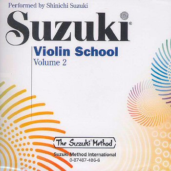 Suzuki Violin School, Volume 2 CD - Shinichi Suzuki