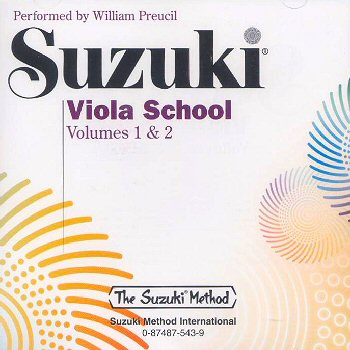 Suzuki Viola School, Volume 1 & 2 CD