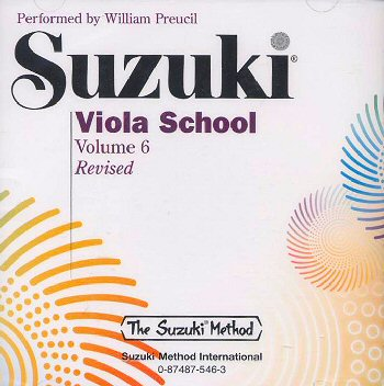 Suzuki Viola School, Volume 6 CD