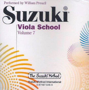 Suzuki Viola School, Volume 7 CD