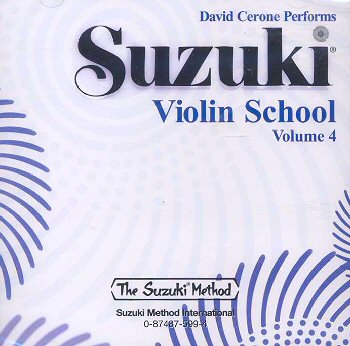 Suzuki Violin School, Volume 4 CD - David Cerone