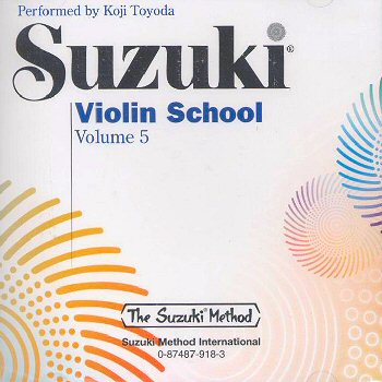 Suzuki Violin School, Volume 5 CD - Koji Toyoda