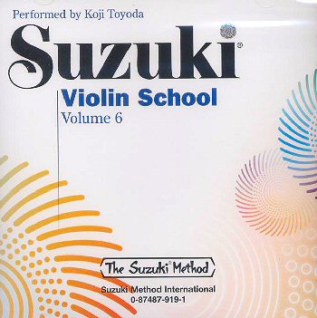 Suzuki Violin School, Volume 6 CD - Koji Toyoda