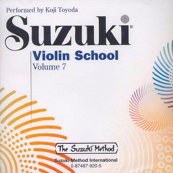 Suzuki Violin School, Volume 7 CD - Koji Toyoda