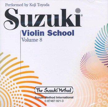 Suzuki Violin School, Volume 8 CD - Koji Toyoda