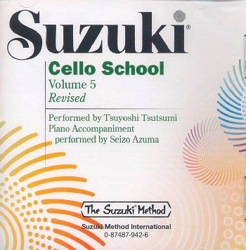 Suzuki Cello School, Volume 5 CD