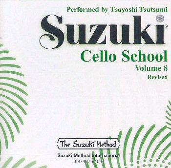 Suzuki Cello School, Volume 8 CD