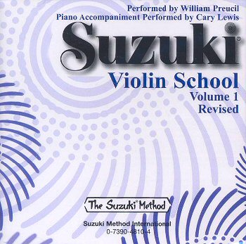 Suzuki Violin School, Volume 1 CD - William Preucil