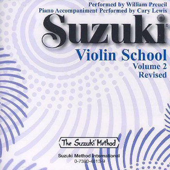 Suzuki Violin School, Volume 2 CD - William Preucil