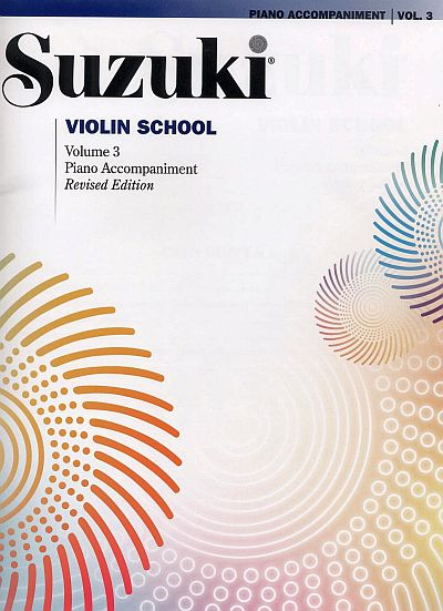 Suzuki Violin School Piano Accompaniment, Volume 3