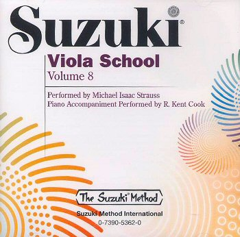 Suzuki Viola School, Volume 8 CD
