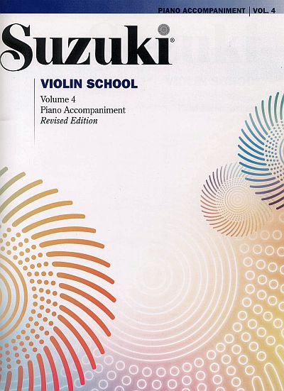 Suzuki Violin School Piano Accompaniment, Volume 4