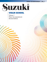 Suzuki Violin School Piano Accompaniment, Volume 7