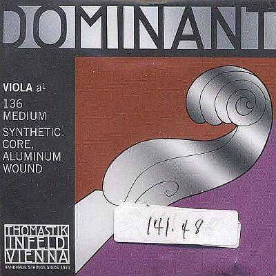Dominant Viola Set with alum D, 48cm C, medium