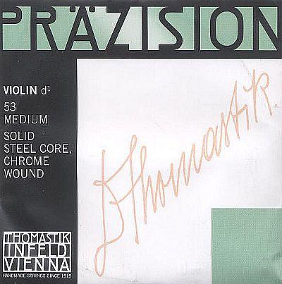Precision 4/4 Violin D, chrome steel