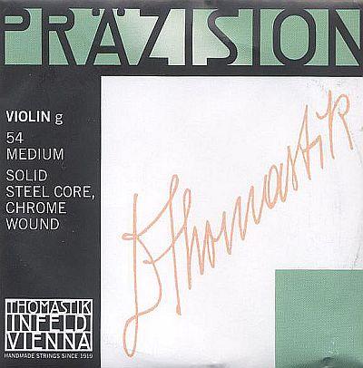 Precision 4/4 Violin G, chrome steel