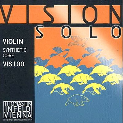 Vision Solo 4/4 Violin Set w/alum D, mittel