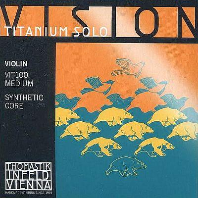 Vision Titanium Solo 4/4 Violin Set, mittel