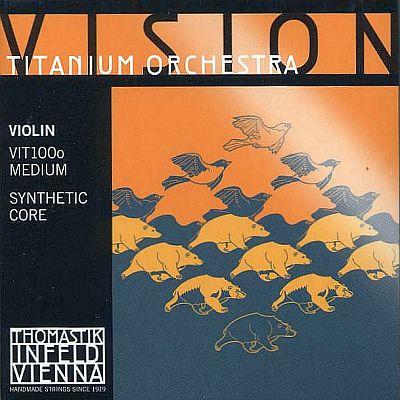 Vision Titanium Orchestra 4/4 Violin Set, mittel