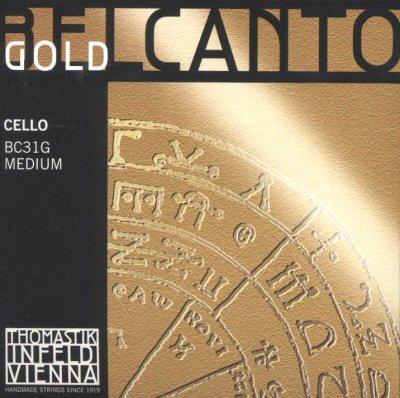Belcanto Gold Cello Set