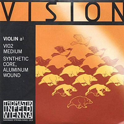 Vision 1/2 Violin A, alum, mittel