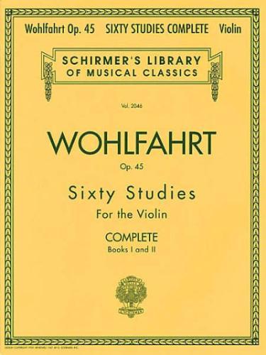 Wohlfahrt: 60 Studies, Op. 45 Complete (Parts 1 and 2)