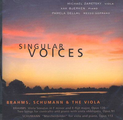 Zaretsky: Singular Voices