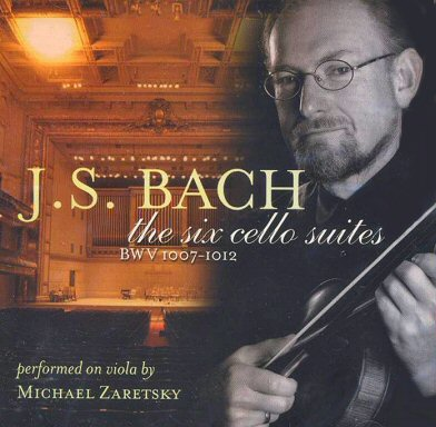 Zaretsky: Bach Cello Suites