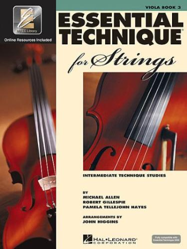Essential Elements for Strings, Viola Book 3