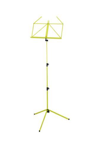 K&M Music stand- rainbow series- yellow