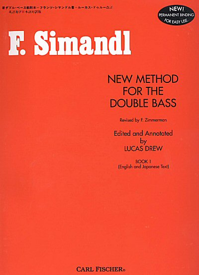 Simandl: New Method for Bass, Book 1