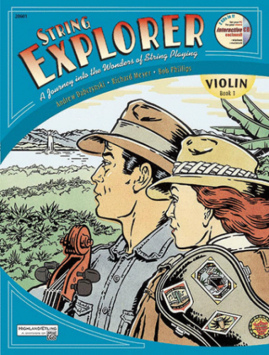 String Explorer Violin Book 1