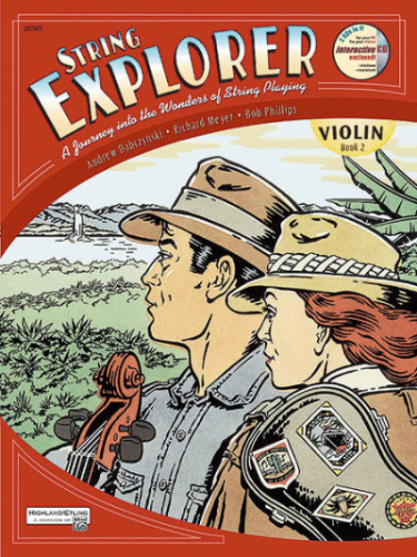 String Explorer, Violin Book 2