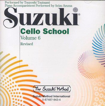 Suzuki Cello School, Volume 6 CD