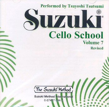 Suzuki Cello School CD Volume 7